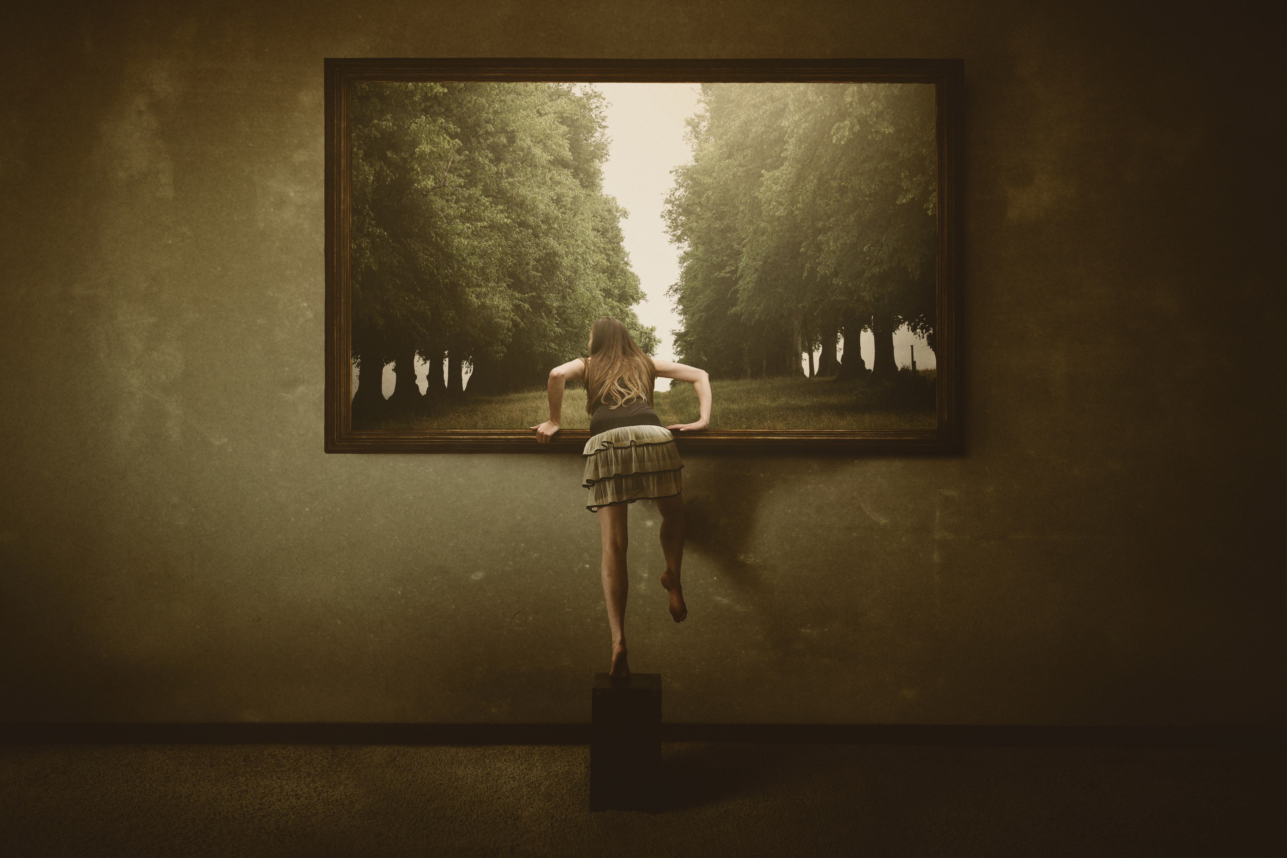 Keren Stanley fine artist conceptual surreal art