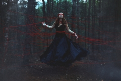 Keren Stanley fine art conceptual photography girl levitating