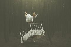 Keren-Stanley-forest-fine-art-conceptual-zero-gravity-bed