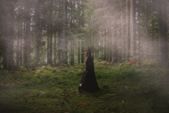 Keren Stanley girl in forest fine art conceptual fantasy