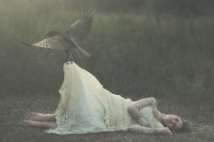 Keren Stanley raven crow conceptual photography