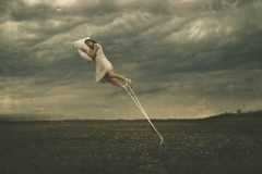 Keren Stanley sleeping girl fine art conceptual photography